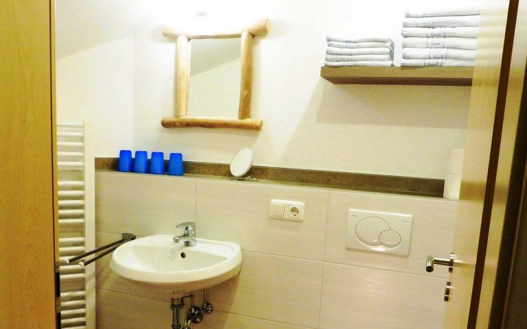 Renovierung des Badezimmers im Alpenblick