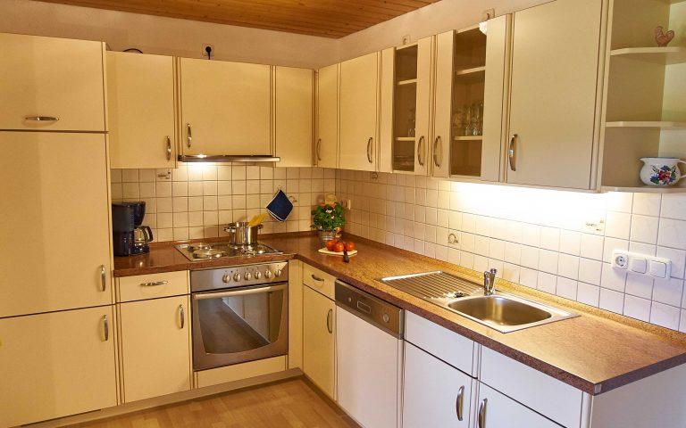 5. Küchenzeile Bergblick